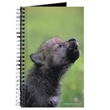 """Black Wolf Pup"" Journal"