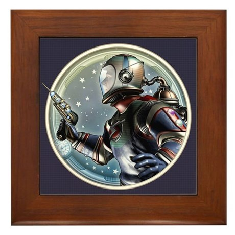 Space Patrol Framed Tile