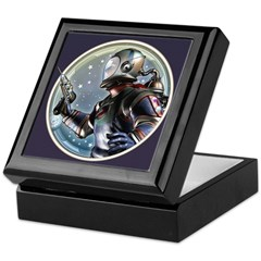 Space Patrol Keepsake Box