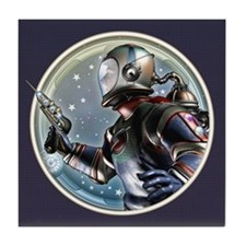 Space Patrol Tile Coaster