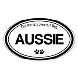Aussie Oval Decal