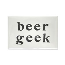 beer geek - Rectangle Magnet