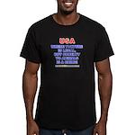 TORTURE Men's Fitted T-Shirt (dark)