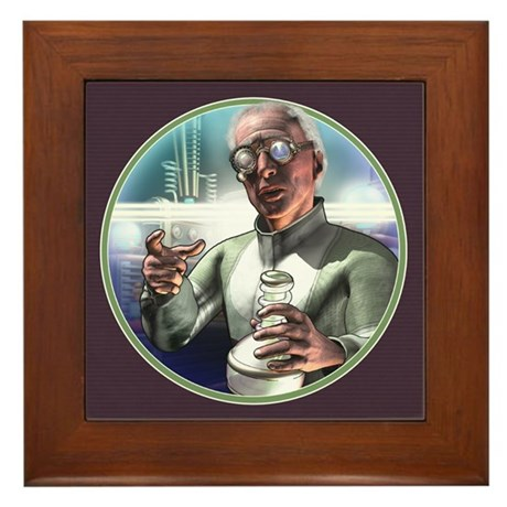 Mad Science Framed Tile