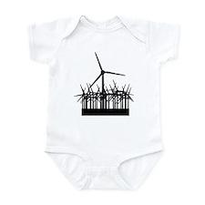 Environment Wind Power Infant Bodysuit