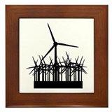 Environment Wind Power Framed Tile