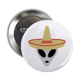 "Mexico Alien Area 51 2.25"" Button (10 pack)"