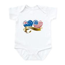 New Zealand/USA Flag_Our Family Infant Bodysuit