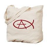 Anarchy Ichthys Tote Bag