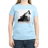 Women's Pink Wilderness Song T-Shirt