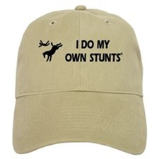 Horse I Do My Own Stunts Baseball Cap