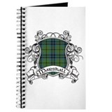 Marshall Tartan Shield Journal