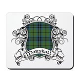 Marshall Tartan Shield Mousepad