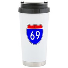 I-69 Ceramic Travel Mug