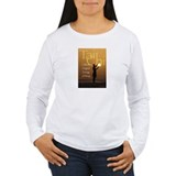 Tai Chi Sun/Energy Ball Women's Lng Sleeve T-Shirt