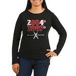 Manny Cheated Women's Long Sleeve Dark T-Shirt