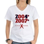 Manny Cheated Women's V-Neck T-Shirt