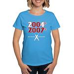 Manny Cheated Women's Dark T-Shirt