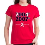 Manny Cheated Women's Red T-Shirt
