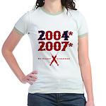 Manny Cheated Jr. Ringer T-Shirt