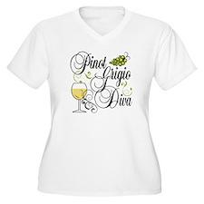Pinot Grigio Diva T-Shirt