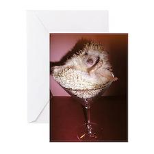 Margarita Hedgehog! Greeting Cards (Pk of 10)