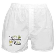 Chardonnay Princess Boxer Shorts