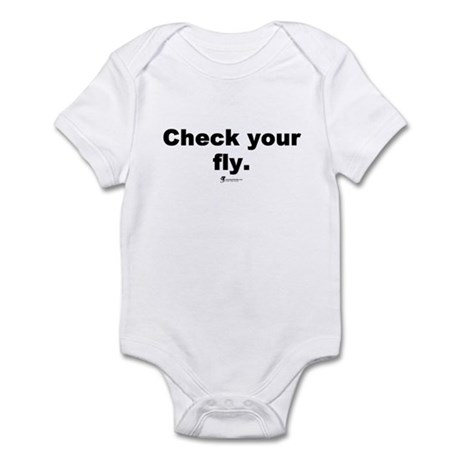 Check your fly - Infant Bodysuit