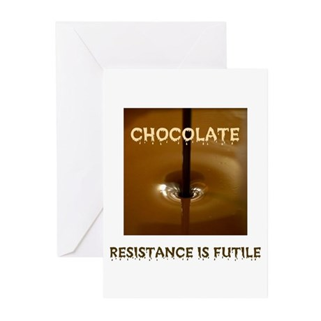 CHOCOLATE ADDICT Greeting Cards (Pk of 10)