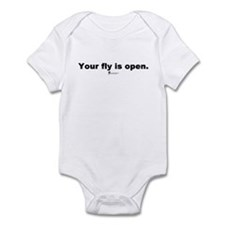 Your fly is open - Infant Bodysuit