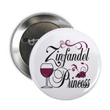 "Zinfandel Wine Princess 2.25"" Button"