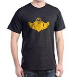 Orange Wild Claddagh T-Shirt
