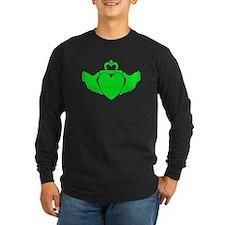 Crazy Green Claddagh T