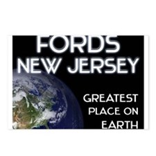 fords new jersey - greatest place on earth Postcar