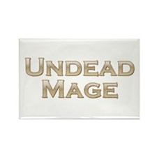 Undead Mage Rectangle Magnet