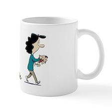 Baby Blues toy fight Mugs