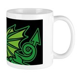 Midrealm Dragon Black Mug