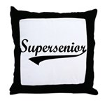 Supersenior Throw Pillow