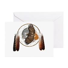 Spirit Hawk Greeting Cards (Pk of 20)