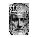 Aristotle: Excellence Action Habit Quote