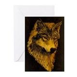 Spirit Wolf Greeting Cards (Pk of 20)