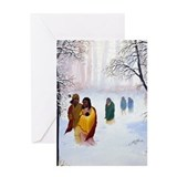 Cherokee Trail of Tears Greeting Card