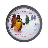 Cherokee Trail of Tears Wall Clock