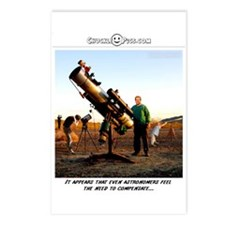 Compensating Astronomer Postcards (Package of 8)