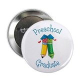 "Cute Preschool graduate 2.25"" Button"