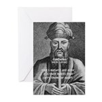 Eastern Wisdom: Confucius Greeting Cards (Package