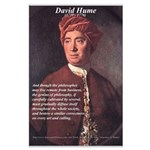 David Hume Genius of Philosophy Large Poster