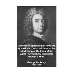 George Berkeley: All Choir of Heaven Quote