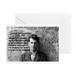 Ludwig Wittgenstein Greeting Cards (Pk of 10)