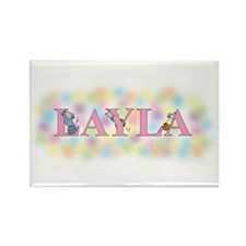 """""""Layla"""" with Mice Rectangle Magnet"""